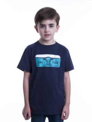 Camiseta Infantil GCK 05 AZUL MARINHO